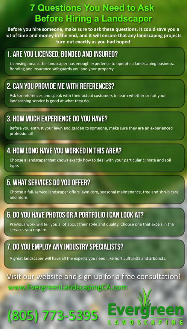 7 Questions You Need to Ask Before Hiring a Landscaper